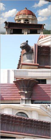 鑄造、鍛造、銅瓦工程