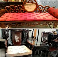 台北市收購二手家具、收購中古紅木家具