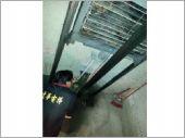 電梯配重測安全距離測量