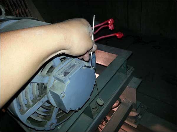 電梯編碼器固定檢測