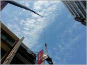 大型吊車吊掛電梯主機
