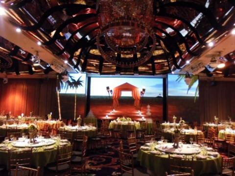 雲朗觀光宴會廳-LED電視牆