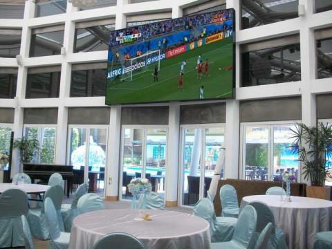 花蓮翰品酒店室內全彩LED電視牆