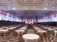 新莊頤品飯店室內環繞-異形屛LED電視牆