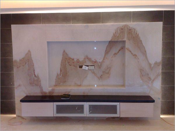 石材電視背牆