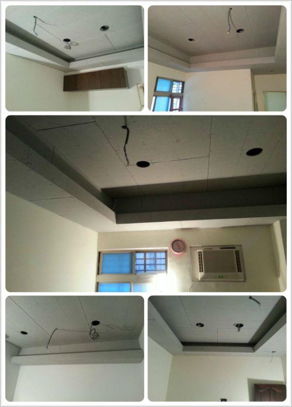 造型平顶天花板