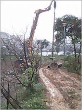 內溝溪橋墩150CM基樁