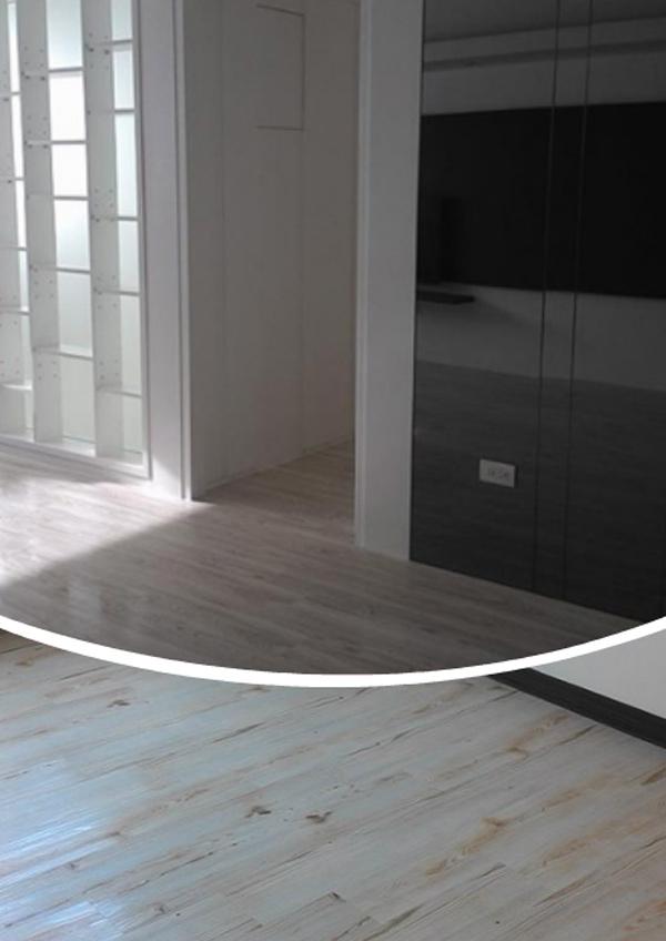 壁紙、pvc地磚、塑膠地磚、室內設計、裝潢施工