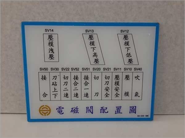 壓克力電磁配置板