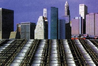 大樓建築樓板中空襯管