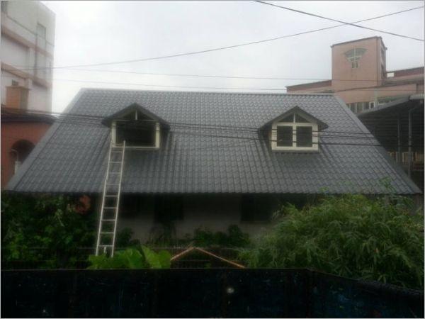 欧式造型铁屋