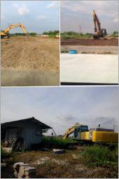 大型挖土機