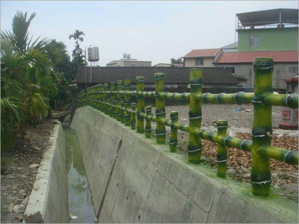 仿木水泥欄杆
