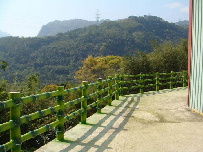 仿竹水泥欄杆