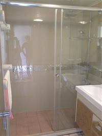 玻璃浴室拉門
