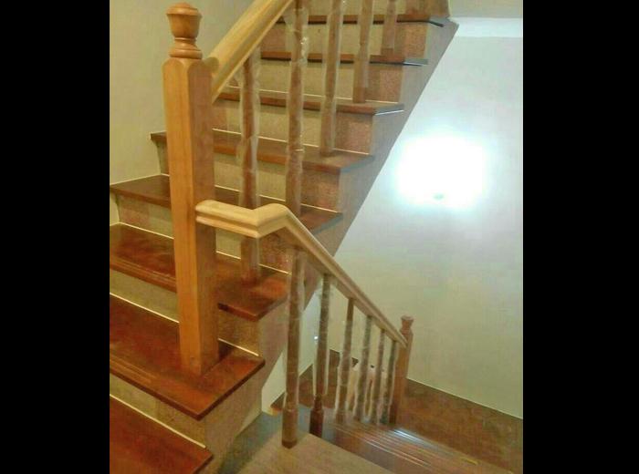 木结构工程,安全扶梯,实木地板