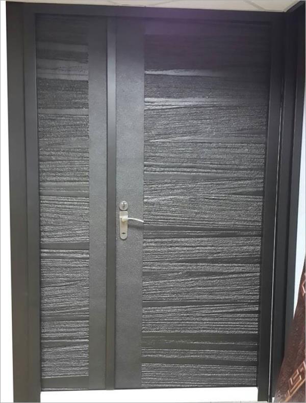 鑄鋁鋼木門