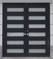 鋼板玻璃門