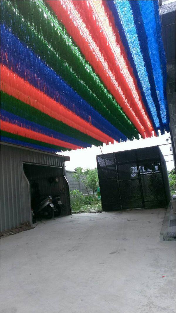 隔熱彩色遮陽網