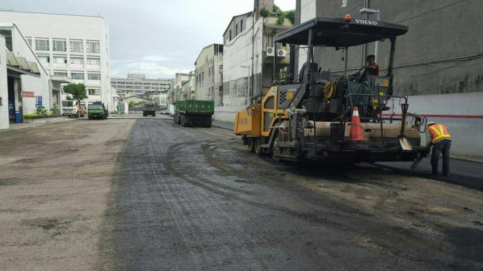 瀝青柏油鋪設路面整地工程