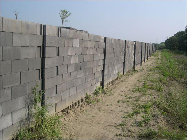 空心磚圍牆工程