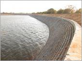 空心磚工程實績/甲地水池護坡工程
