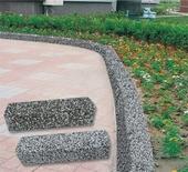 洗石子路緣石(安全島)