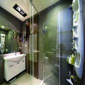 現代和風浴室設計