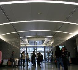 鋁板弧型天花板