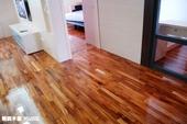 柚木平口地板