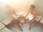 三溫暖蒸氣浴室