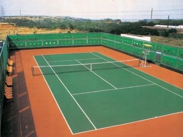 耐候PU網球場地坪