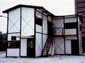 雙層L型組合房屋