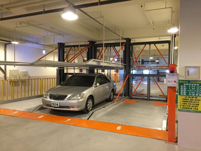 雙層油壓後懸直接式停車設備FD-9L