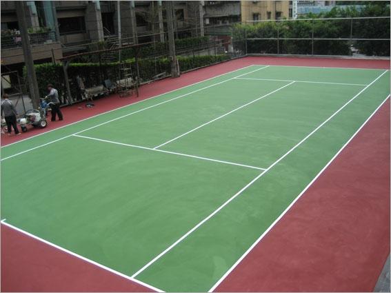 網球場地坪