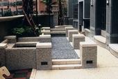 花園造型洗石子工程