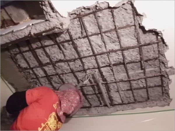 天花板结构补强工程 (2)