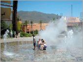 廣場水舞噴泉