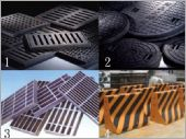 紐澤西護欄、鑄鐵人孔蓋、鑄鐵水溝蓋、鍍鋅陰井、水溝蓋