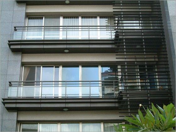 建筑外窗 木格栅遮挡