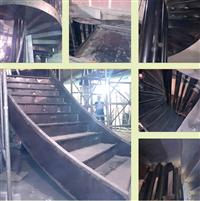 樓層鋼構樓梯工程