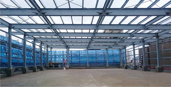 廠房鋼架結構工程