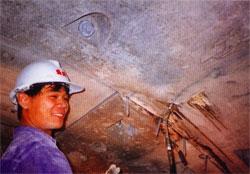 混凝土牆結構高壓灌注補強工程