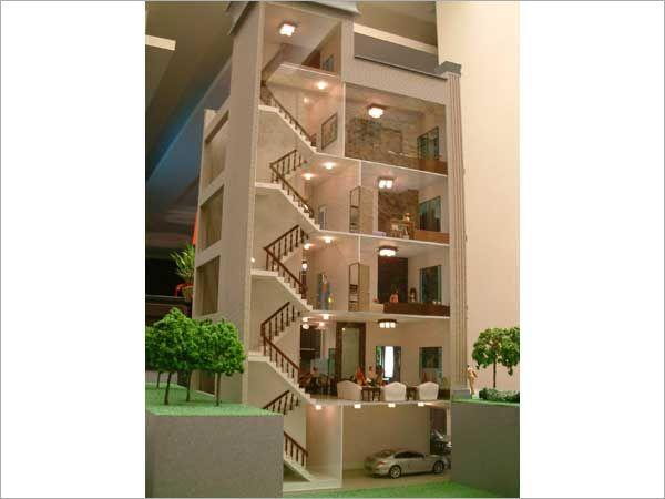 建築模型-剖面模型