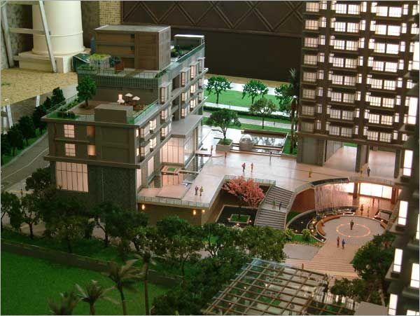建築模型-基地景觀