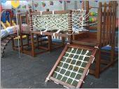 兒童攀爬網設備