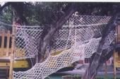 戶外攀爬網設備