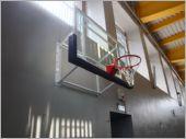 掛壁式強化玻璃籃板