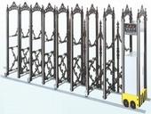 鍛造伸縮大門