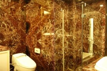 石材浴室牆面